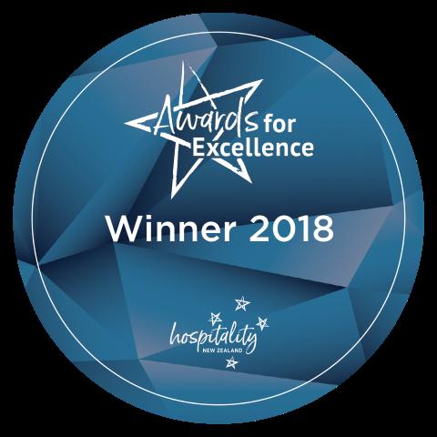 Hospitality NZ  - Winner 2018